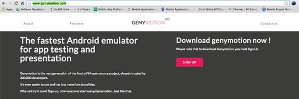 Genymotion – An Android emulator you can use