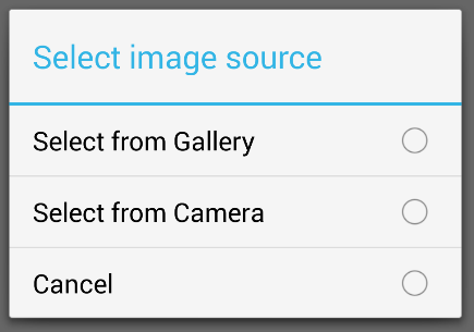 Android Dialog