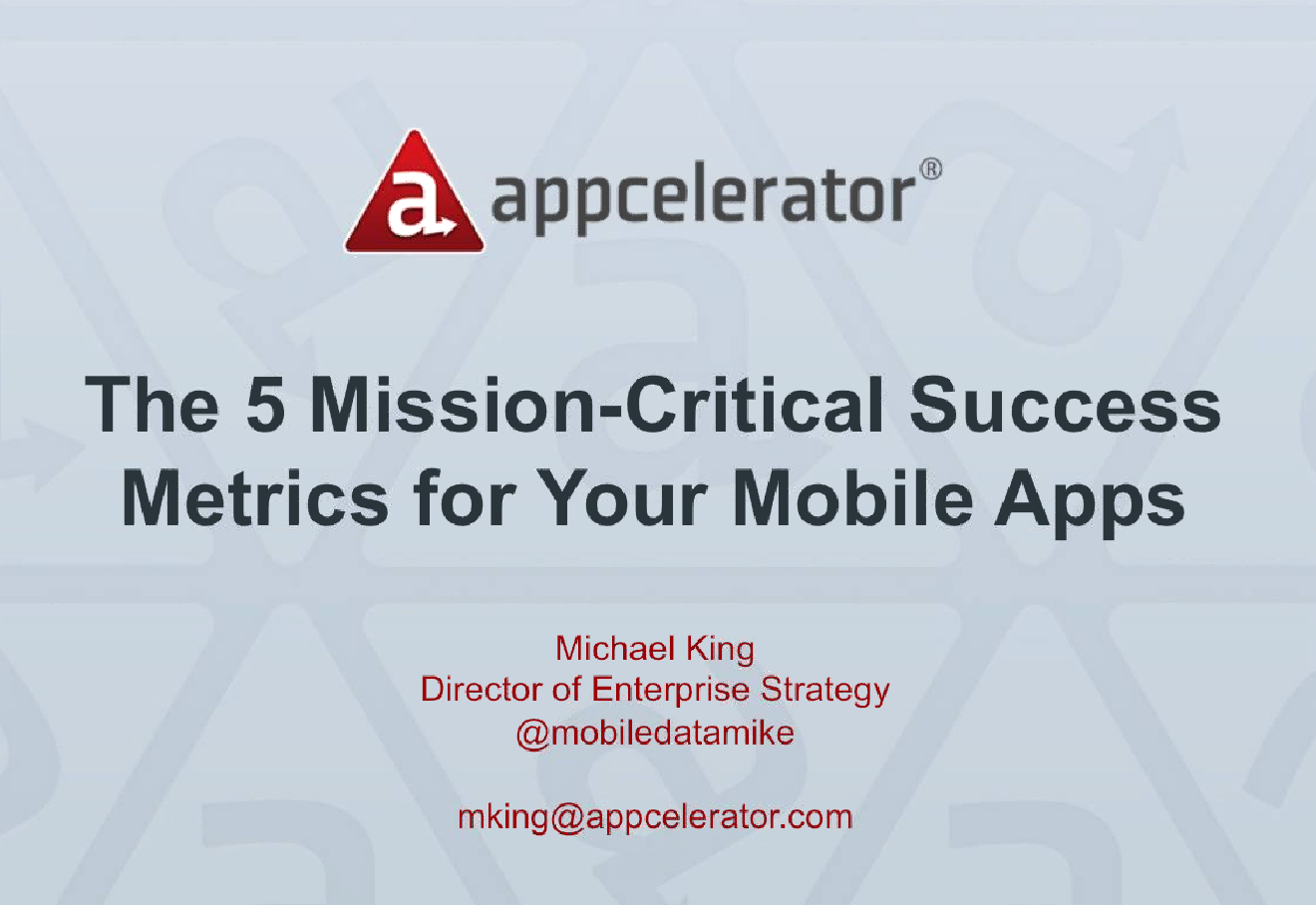5 mission-critical success metrics